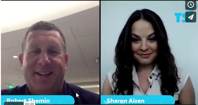 2017 08 31 17 34 47 ראיון  שרון אייזן מארחת את רוברט שמין   Winfluence – מגזין עסקים ונדל ן בעולם הח 1